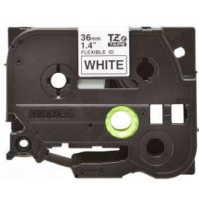 Brother - TZe-FX261, bílá / černá, 36 mm,  s flexibilní páskou