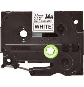Brother - TZe-N201, bílá / černá (3,5mm nelaminované)