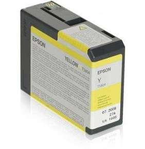 Epson inkoustová náplň/ C13T580400/ StylusPro3800/ Žlutá