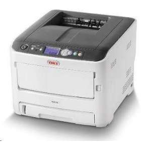 OKI C612dn, A4 LED, color printer, 36 strán/min, 1200x600, USB, LAN, duplex