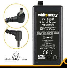 WE AC adaptér 19V/4.74A 90W konektor 4.8-4.2x1.7mm