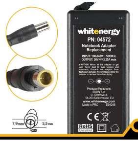 Whitenergy napájecí zdroj 20V/3.25A 65W konektor 7.9x5.5mm + pin IBM