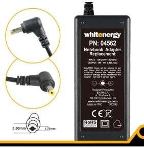 Whitenergy napájecí zdroj 19V/3.42A 65W konektor 5.5x1.7mm Acer