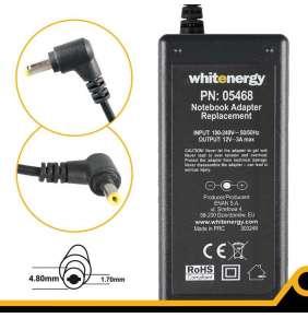 Whitenergy napájecí zdroj 12V/3A 36W konektor 4.8x1.7mm Asus Eee PC