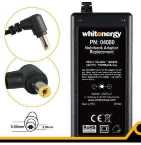 Whitenergy napájecí zdroj 19V/4.8A 90W konektor 5.5x2.5mm