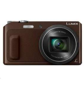 "Panasonic DMC-TZ57 brown (16 Mpx MOS, 20x zoom, 3"" vyklop. LCD, Wi-Fi)"
