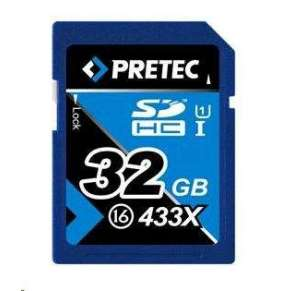 PRETEC Secure Digital SDHC class 16 (433x) - 32GB