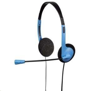 Hama PC Headset HS-101, čierna/modrá