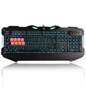 A4tech Bloody B328 podsvícená herní klávesnice, 8 mechanických infračervených kláves, USB, CZ