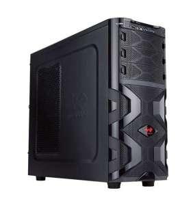 IN WIN skříň Mana 136, Midi Tower, USB 3.0, black, bez zdroje
