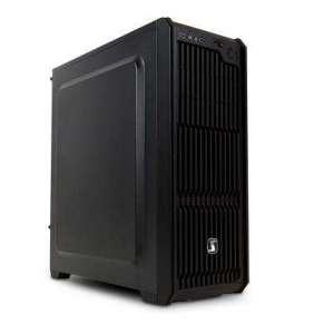 SilentiumPC skříň MidT Regnum RG2 Pure Black / 2x USB 3.0 / 2x 120mm fan / černá