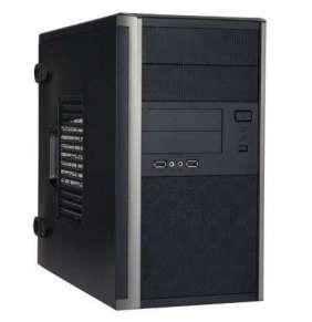 IN WIN skříň EM035 mATX 350W 85+ Bronze/ USB 3.0/ Audio/ toolfree, Black