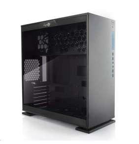 IN WIN skříň 303, Black, Mid Tower, bez zdroje, USB 3.0 + Aurora set