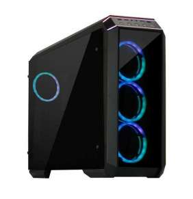 CHIEFTEC skříň Miditower STALLION II, GP-02B-500BDF, 500W, 4x RGB Rainbow Fan, 2 x USB 3.0/1x USB 2.0