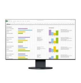 """24"""" LED EIZO EV2451-FHD,IPS,HDMI,DP,USB,piv,rep,bk"""