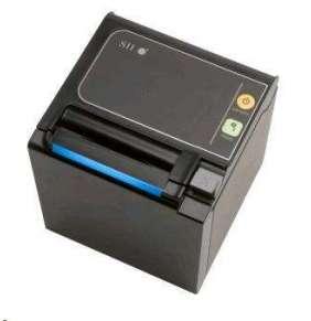 Seiko pokladničná tlačiareň RP-E10, rezačka, Horný výstup, Ethernet, čierna