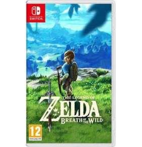 Nintendo SWITCH The Legend of Zelda: Breath of the Wild