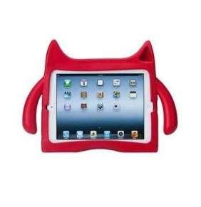 iPadding kryt detský obal pre iPad 2/3/4 - Red