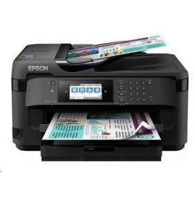 EPSON tiskárna ink WorkForce WF-7710DWF, 4v1, A3, 32ppm, Ethernet, WiFi (Direct), Duplex, NFC,3 roky OSS po registraci