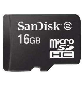 SanDisk MicroSD karta 16GB (Class 4)