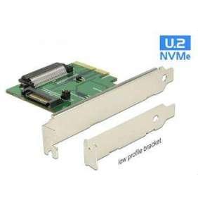 Delock PCI Express x4 Karta   1 x interní U.2 NVMe SFF-8639 samice
