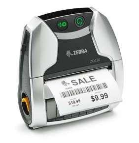 Zebra ZQ320 Indoor, 8 dots/mm (203 dpi), ZPL, CPCL, USB, BT, Wi-Fi, NFC