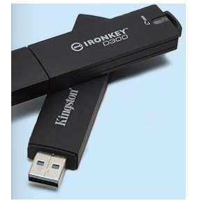64GB USB D300S AES 256 XTS šifrovaný