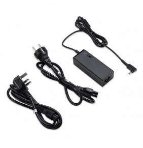 ACER ADAPTER 45W_3phy 19V Black EU and UK POWER CORD (Swift 1, 3, 5  Spin 1, 5   TM X3   TM Spin B1  Chromebook 11, R11,