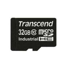 Transcend 32GB microSDHC (Class 10) MLC průmyslová paměťová karta (bez adaptéru), 20MB/s R, 18MB/s W