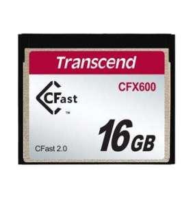 Transcend 16GB CFast 2.0 CFX600 paměťová karta (MLC)