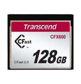 Transcend 128GB CFast 2.0 CFX600 paměťová karta (MLC)