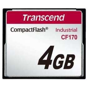 Transcend Compact Flash karta 4GB High Speed CF170