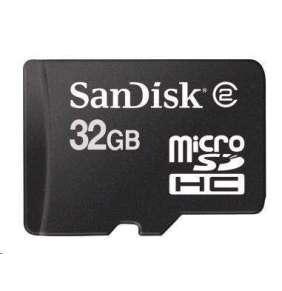 SanDisk MicroSDHC karta 32GB (Class 4)