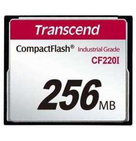 TRANSCEND Industrial Compact Flash Card CF220I 256MB, SLC (UDMA5)
