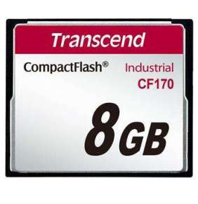 Transcend 8GB INDUSTRIAL CF CARD CF170 paměťová karta (MLC)