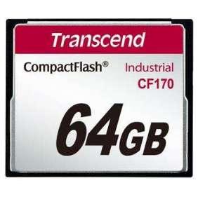 Transcend 64GB INDUSTRIAL CF CARD CF170 paměťová karta (MLC)