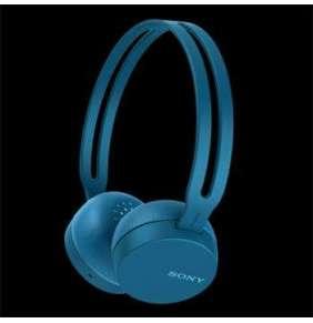 SONY WHCH400L Bezdrátová sluchátka NFC, vestavěný mikrofon, výdrž baterie 20 hodin, Blue