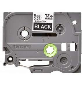 TZE-315,  černá/bílá, 6mm