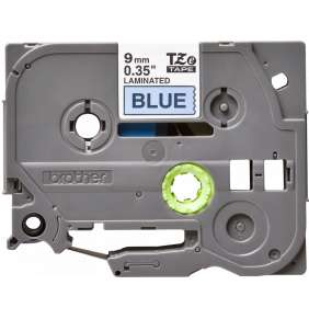 Brother - TZe-521, modrá / černá (9mm,laminovaná)