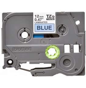 Páska Brother 12mm BLACK ON BLUE
