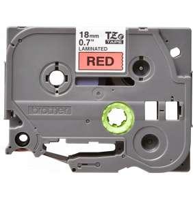 TZE-441,  červená/černá, 18mm