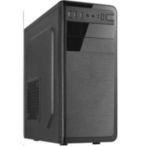 CRONO skříň MT-760i MidiTower bez zdroje, black
