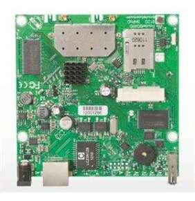 MikroTik RouterBOARD RB912UAG-2HPnD, 64MB, 802.11b/g/n, L4, 2xMMCX, 1xGLAN, miniPCIe, L4