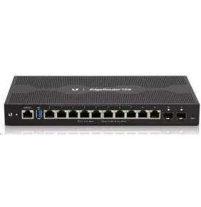 UBNT EdgeRouter 12P - 10x Gbit RJ45 port, 2x SFP port, 10x PoE Out 24V